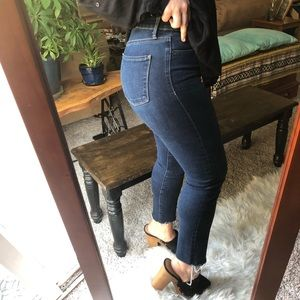 High Waisted Lucky Jeans